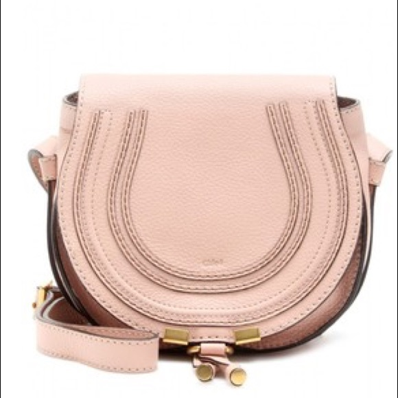 4d3626a218 Chloe Bags | Mini Marcie Crossbody Bag In Blush Nude | Poshmark